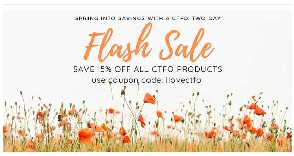 CTFO CBD 2 Day Flash Sale