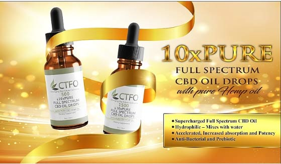 10xPure CBD Oil Drops