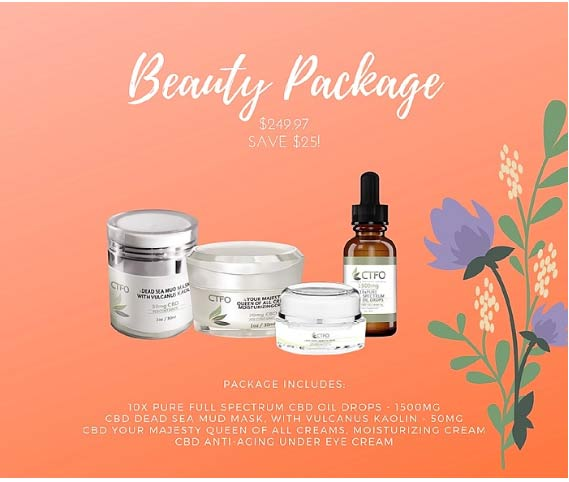 CTFO CBD Beauty Package