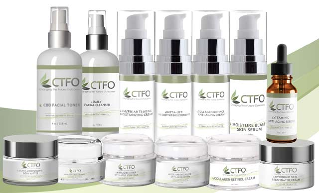 CTFO CBD Skin Care Products