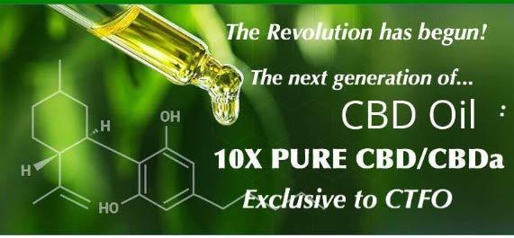 CTFO CBD-CBDa Oil