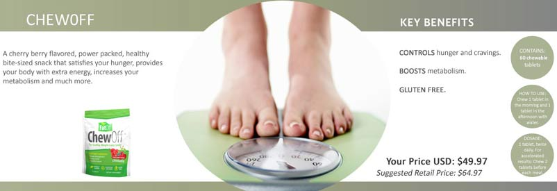 Buy CTFO ChewOff Weight Loss Products