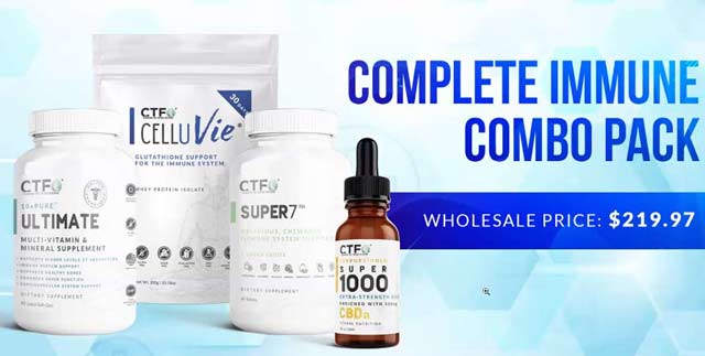 CTFO Complete Immune Combo Pack