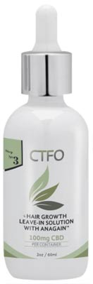 CBD Hair Growth Leave-In Solution with AnaGain
