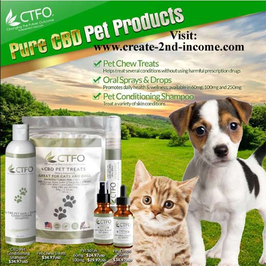 CTFO CBD Hemp Oil Products for Pets