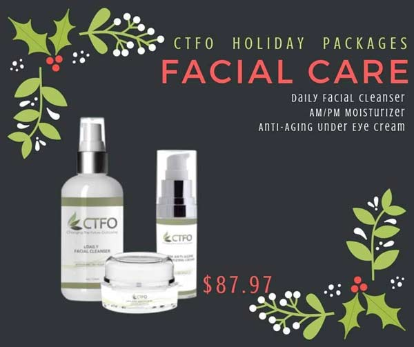 CTFO CBD Oil Holiday Facial Package