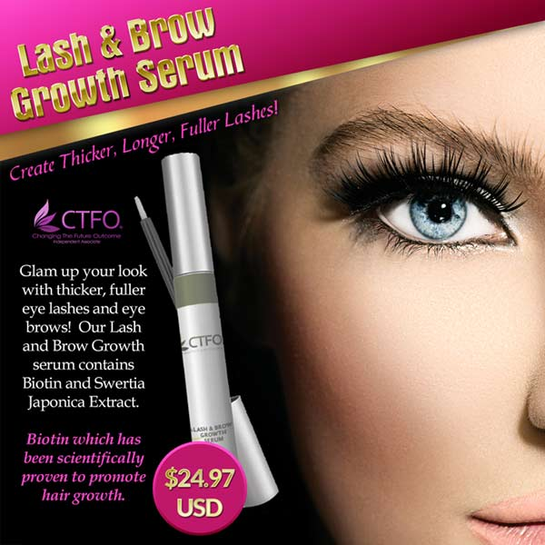 CTFO Lash and Brow Growth Serum