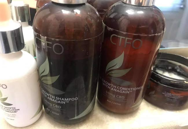 CTFO Hair Growth Products
