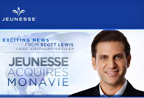 Jeunesse Global acquires Monavie