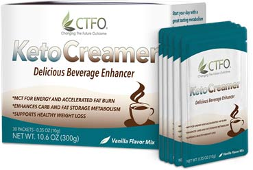Buy CTFO Keto-Creamer Weight Loss Product with MCT