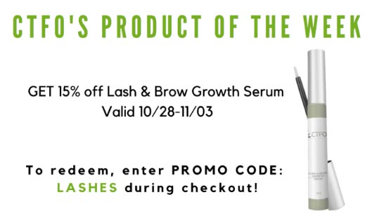 CTFO Special Sale Save 15% on Lash & Brow Growth Serum Product