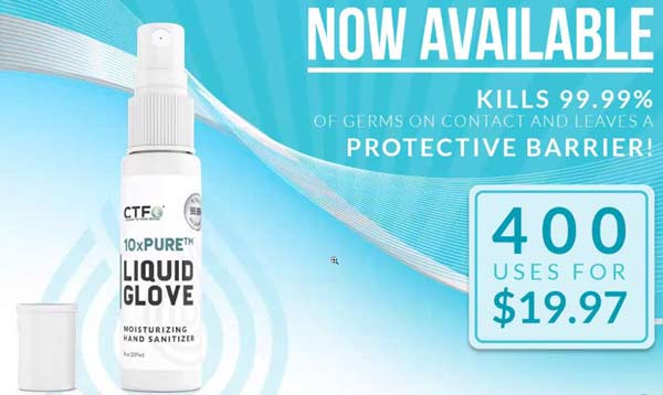 CTFO 10XPure Liquid Glove