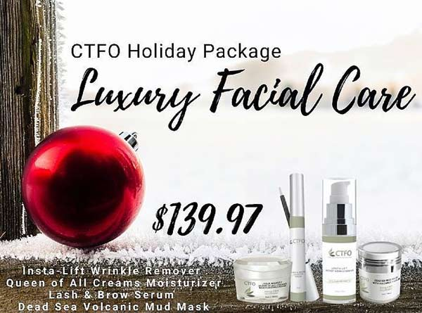 CTFO CBD Oil Holiday Luxury Facial Package