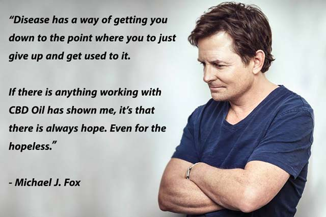 CTFO CBD Hemp Oil Michael J Fox