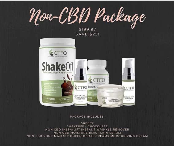 CTFO Non-CBD Package
