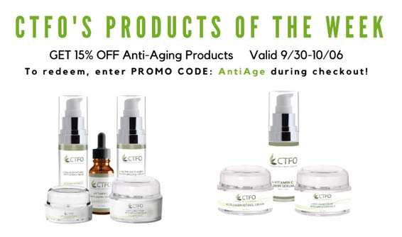 CTFO AntiAging Product of the Week