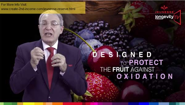 Jeunesse Reserve Colored Fruits Antioxidants