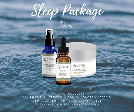 CTFO Sleep Support Package