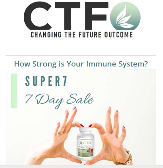 CTFO Super 7 Immune Booster