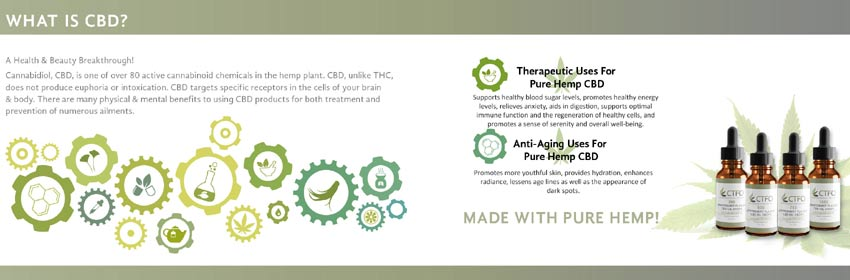 CTFO What is CBD Hemp Oil